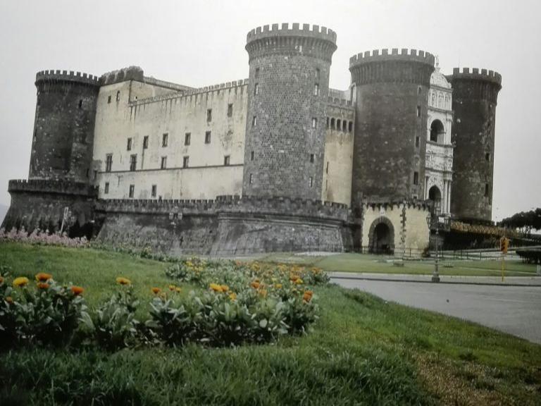 Castel Nuovo tra Angioini e Aragonesi alla luce della documentazione archeologica; analisi delle forme di organizzazione spaziale e della cultura materiale
