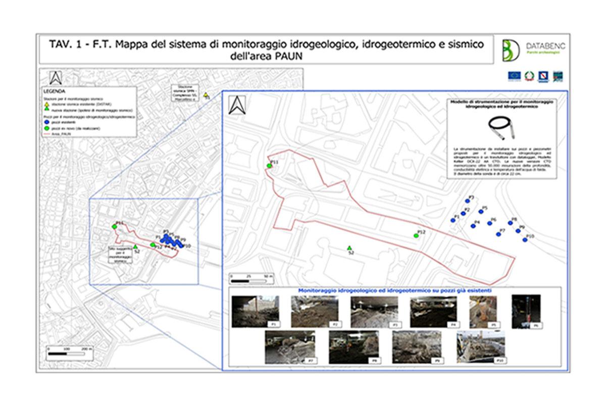 Contributo allo sviluppo di un sistema di monitoraggio idrogeologico, idrogeochimico, idrogeotermico delle acque sotterranee e sismico integrato