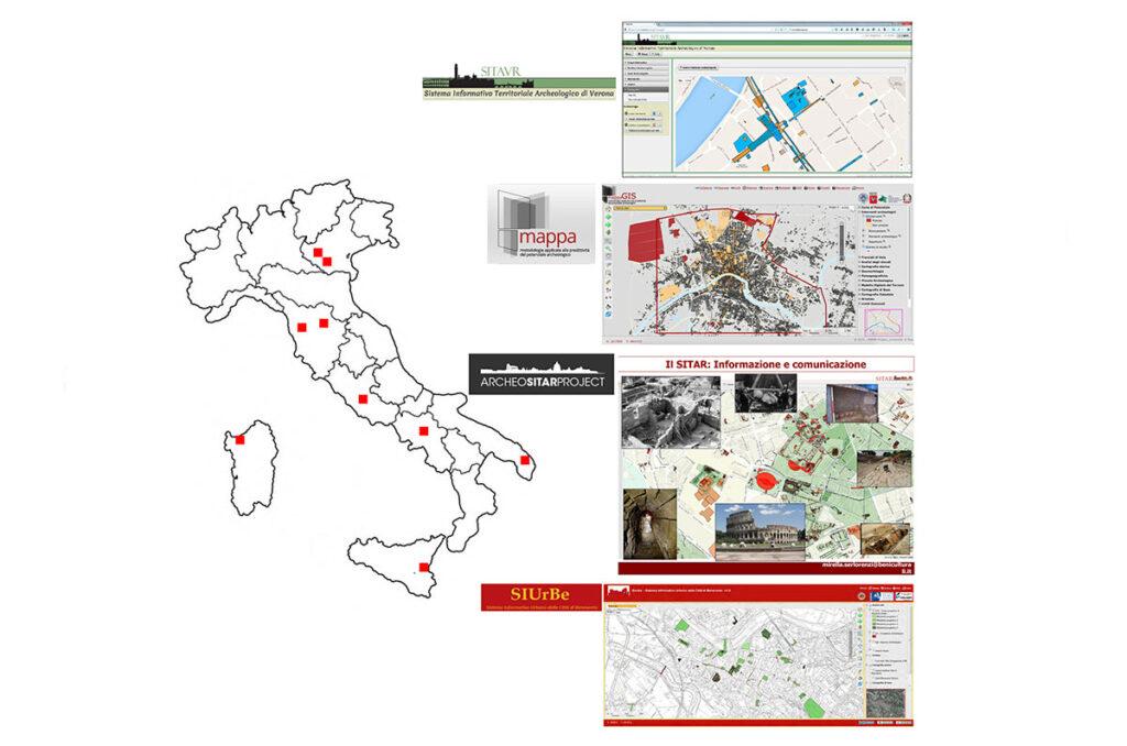 Analisi del contesto, fabbisogno tecnologico e produzione della conoscenza. Metodologie e sistemi integrati, archiviazione e gestione dei dati in centri urbani pluristratificati